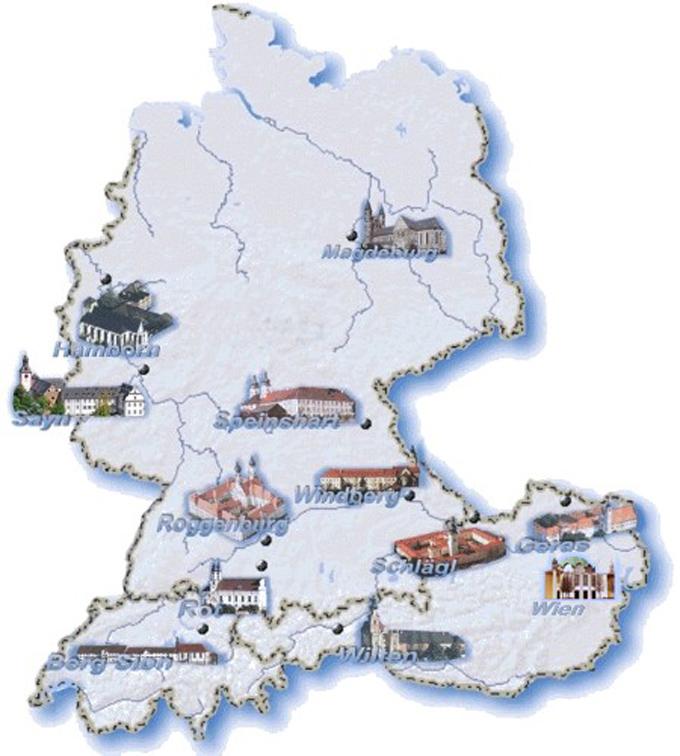 Pramonstratenser Kloster Im Deutschsprachigen Raum
